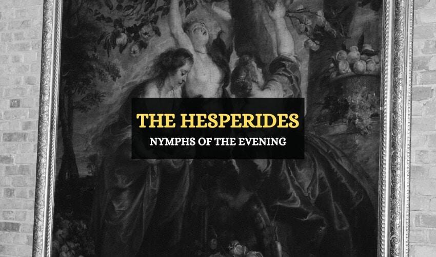 The Hesperides Greek mythology