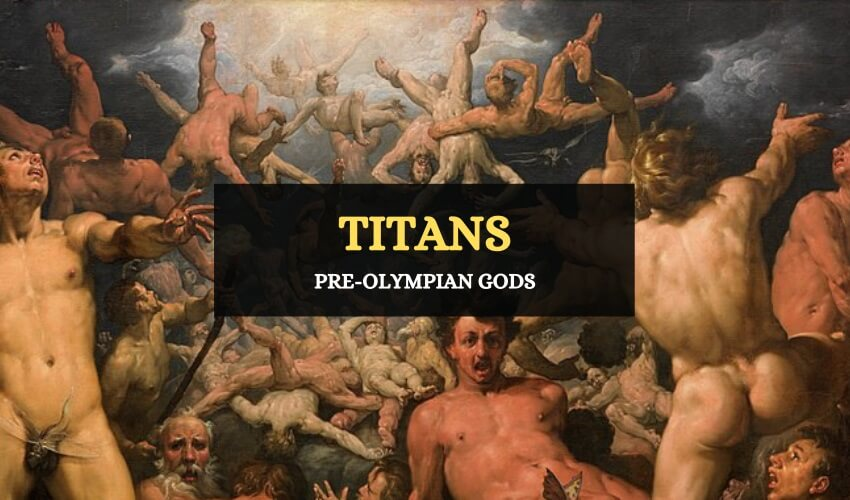Titans Greek mythology