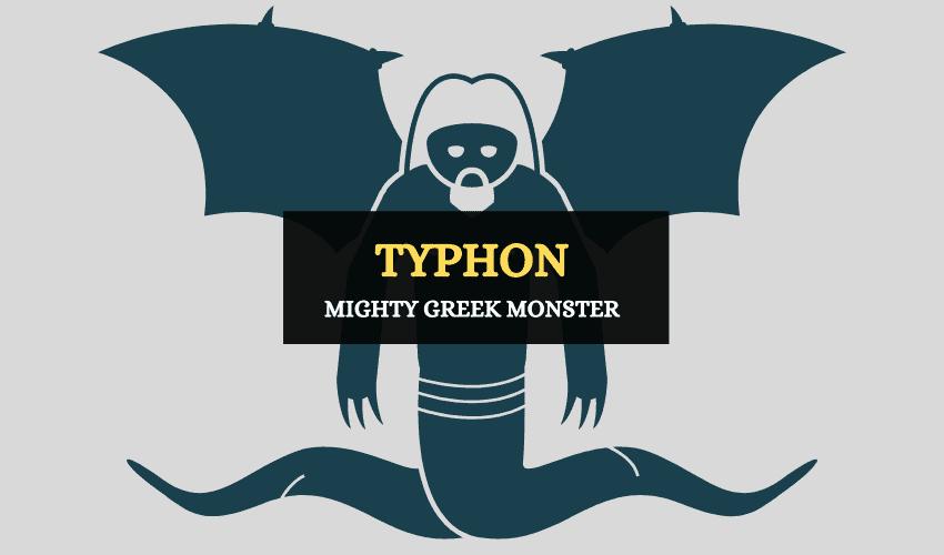 Typhon Greek mythology