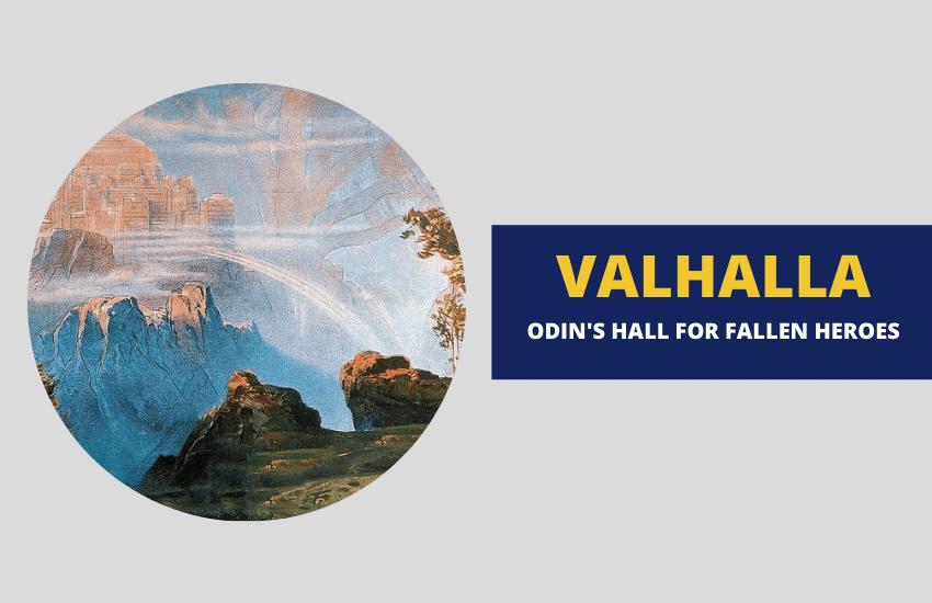 Valhalla Odins hall Norse mythology