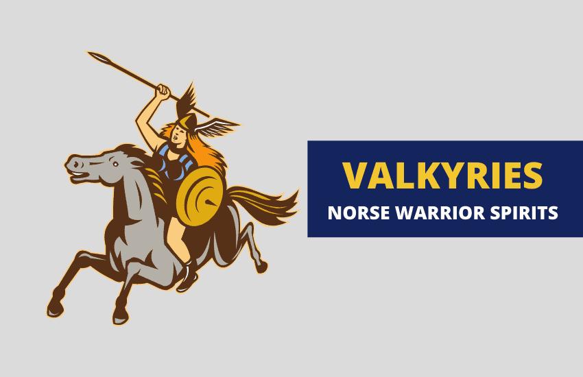 Valkyrie Norse warrior spirits
