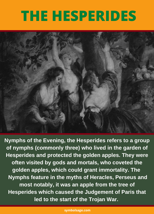 Who are the Hesperides