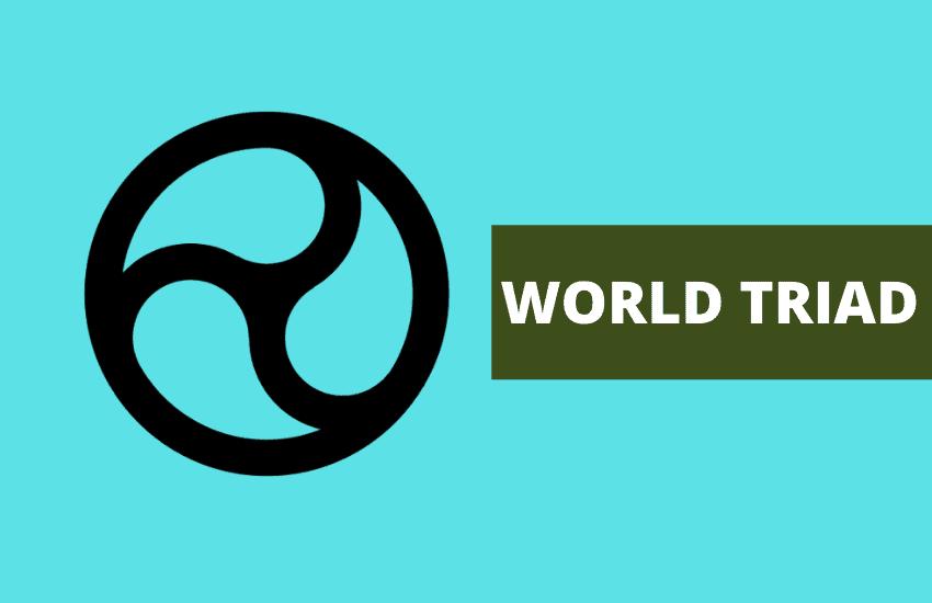 World triad symbol