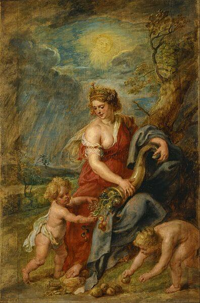 Abudantia painting