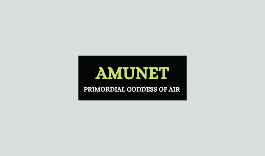 Amunet Egyptian goddess