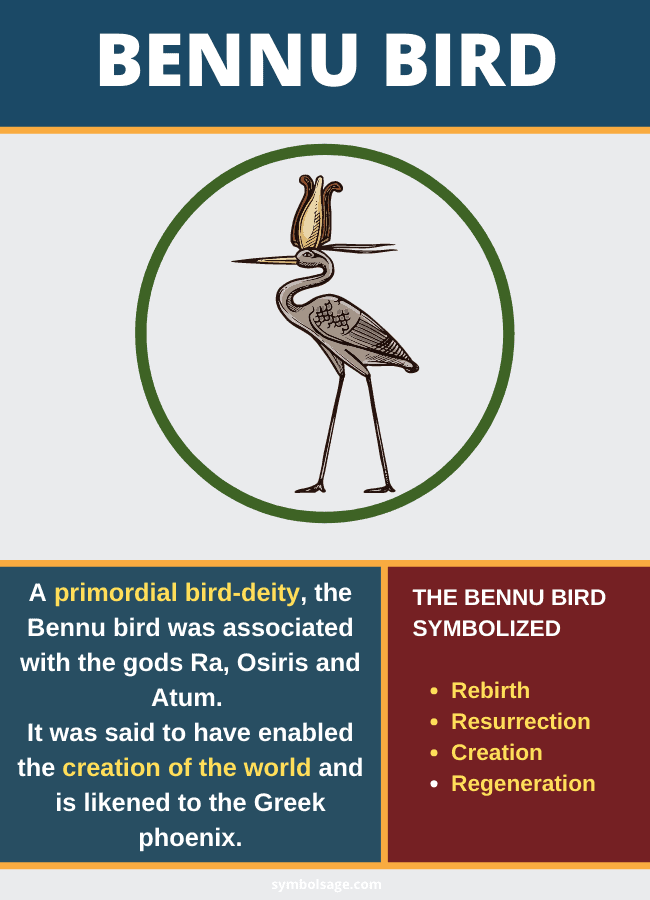 Bennu bird importance symbolism