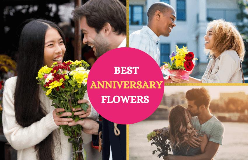 Best flowers for anniversaries