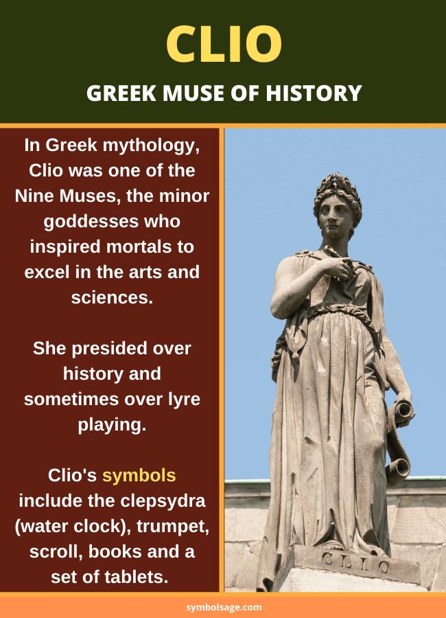 Clio Greek mythology