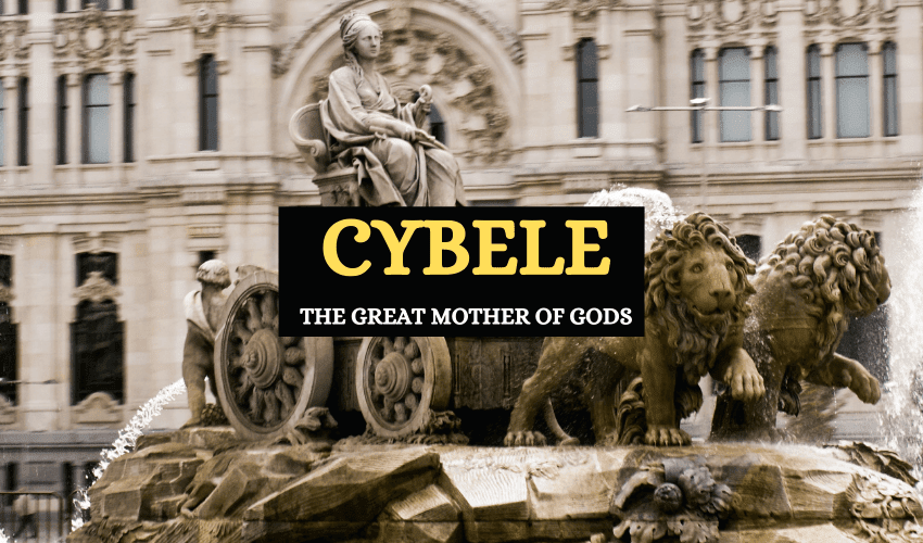 Cybele mother of gods