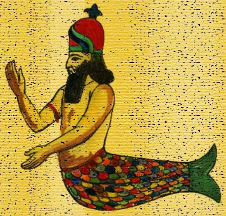 Dagon fish deity