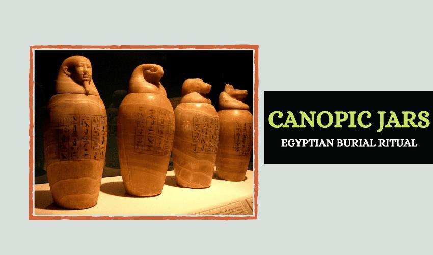 Egyptian Canopic jar