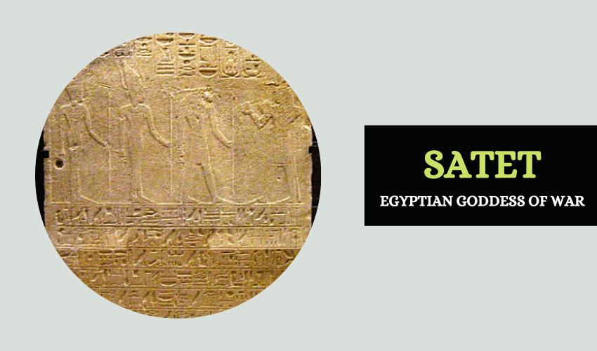 Egyptian goddess Satet
