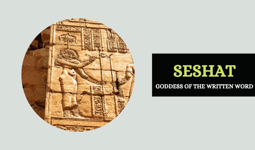 Egyptian mythology Seshat