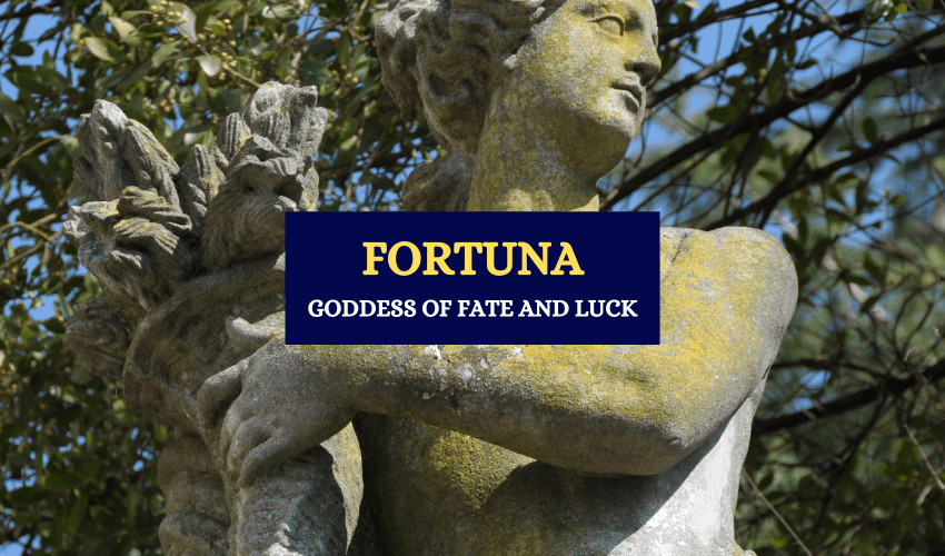 Fortuna roman goddess