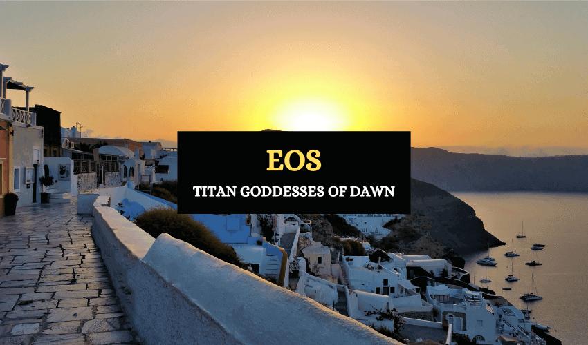 Goddess of dawn Eos