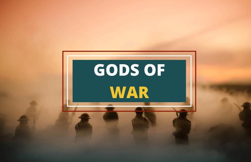 Gods of war list