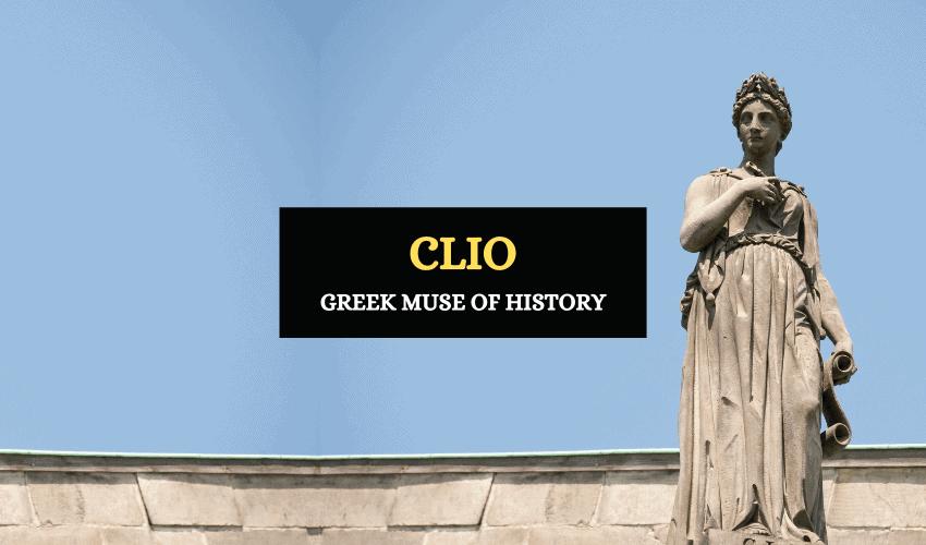 Greek muse Clio