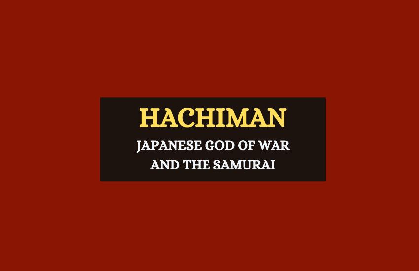 Hachiman Japanese god of war