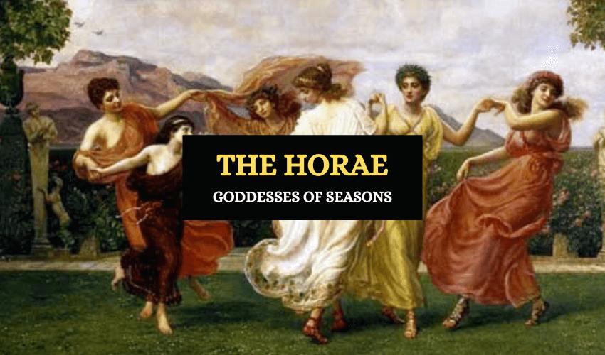 Horae goddesses of seasons