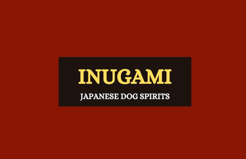 Inugami Japanese dog spirits
