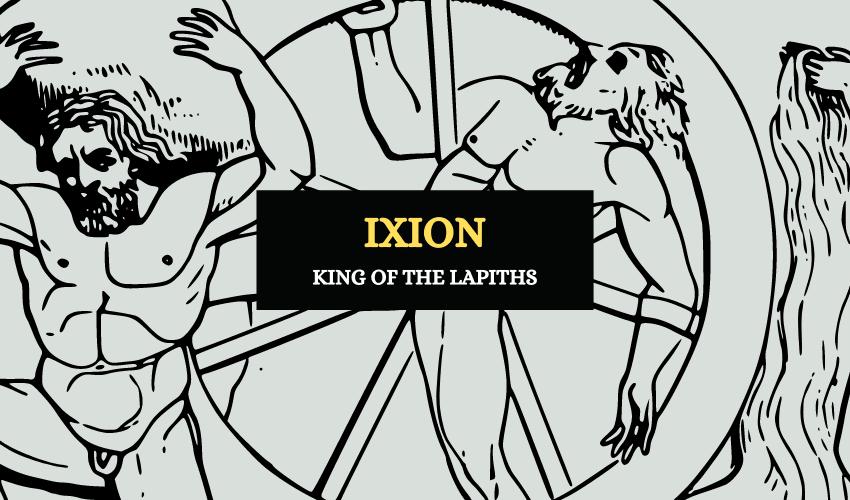Ixion king of Lapiths Greek mythology