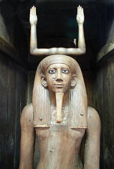 Ka statue Egypt