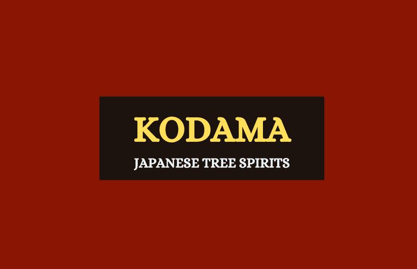 Kodama Japanese tree spirits