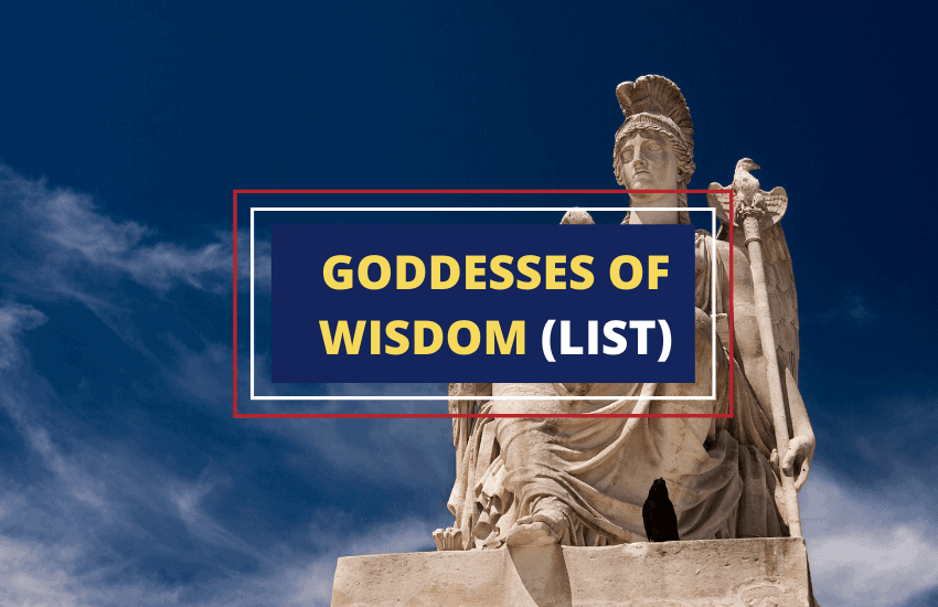 List of goddesses of wisdom