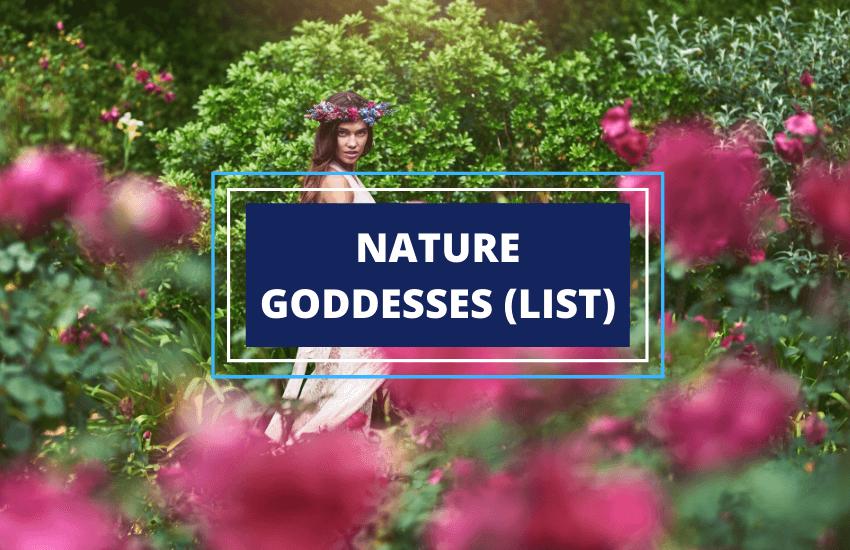 List of nature goddesses