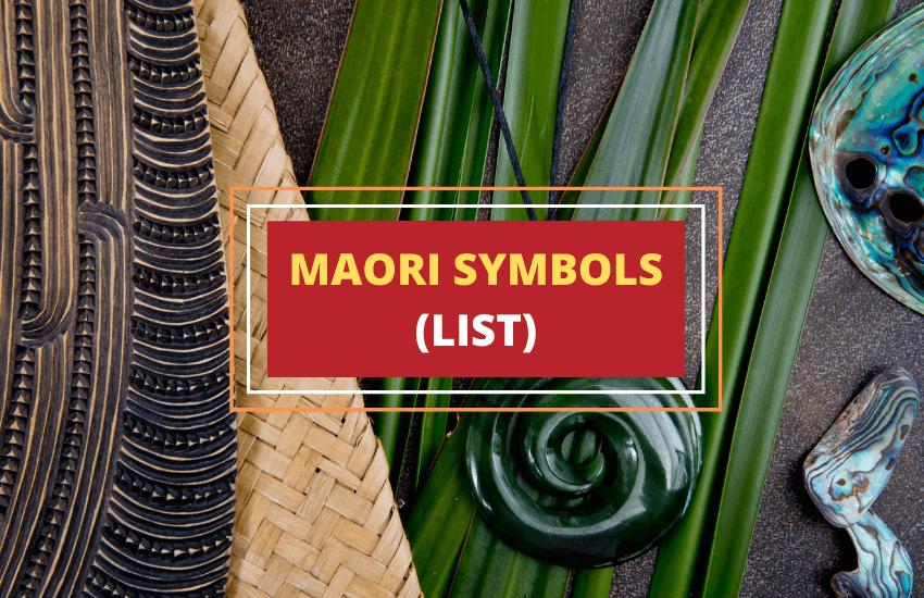 Maori symbols list