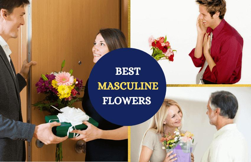 Masculine flowers list