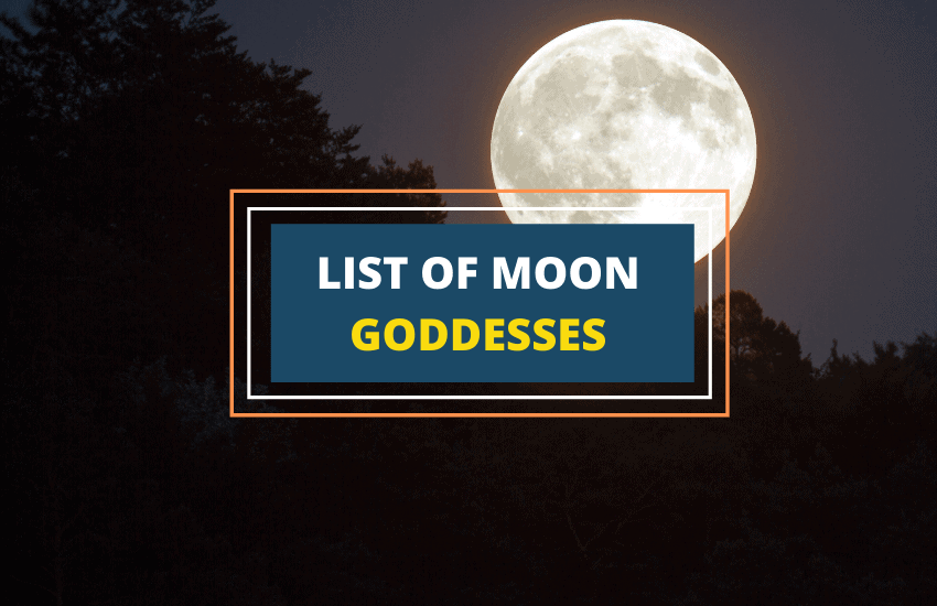 Moon goddesses names list
