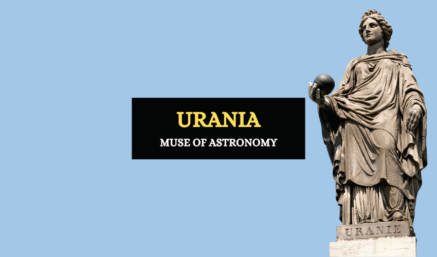 Muse of astronomy Urania