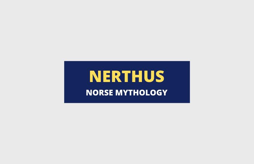 Nerthus Norse mythology