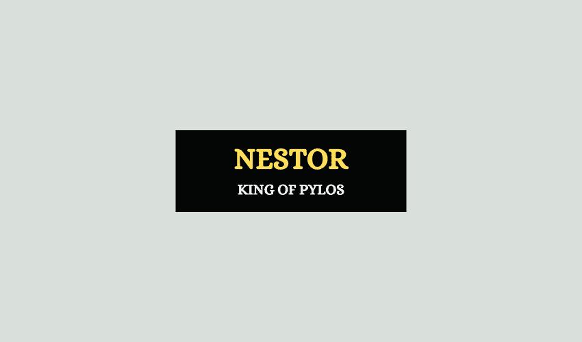 Nestor Greek mythology