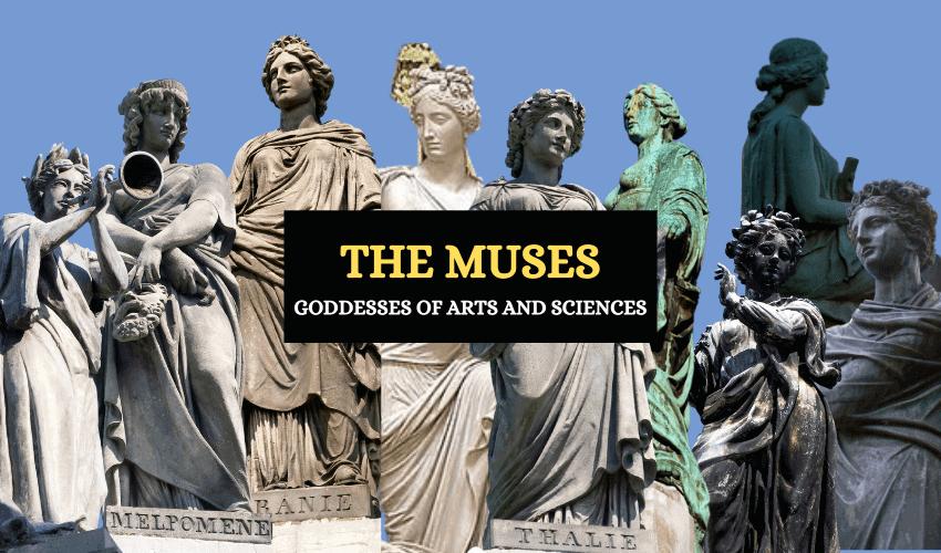 Nine Greek muses