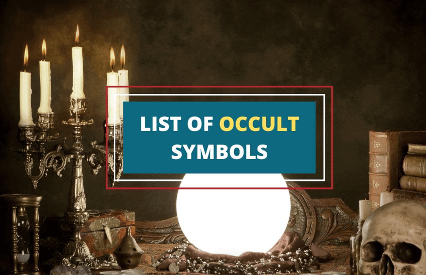 Occult symbols list