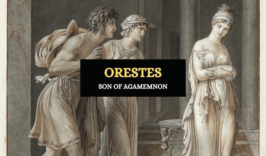 Orestes Greek mythology