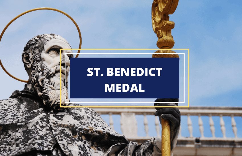 Saint benedict medal meaning symbolism