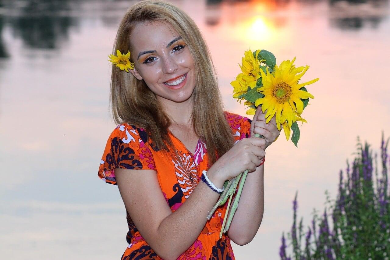 Sunflower for anniversary