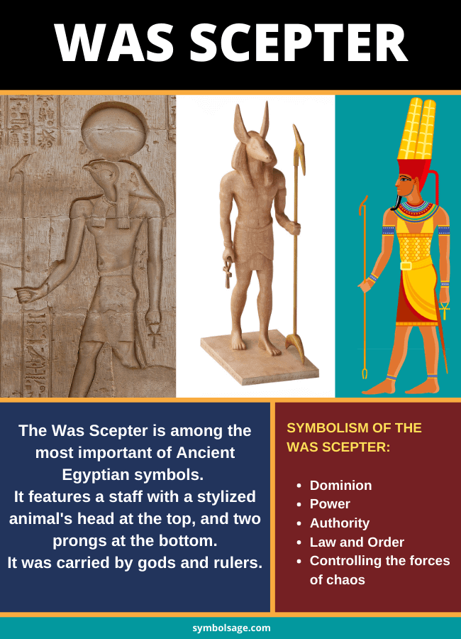 Egyptian was scepter