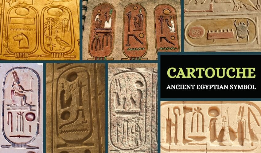 Symbolism and use of cartouche