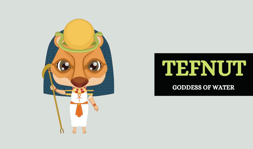 Tefnut goddess of water