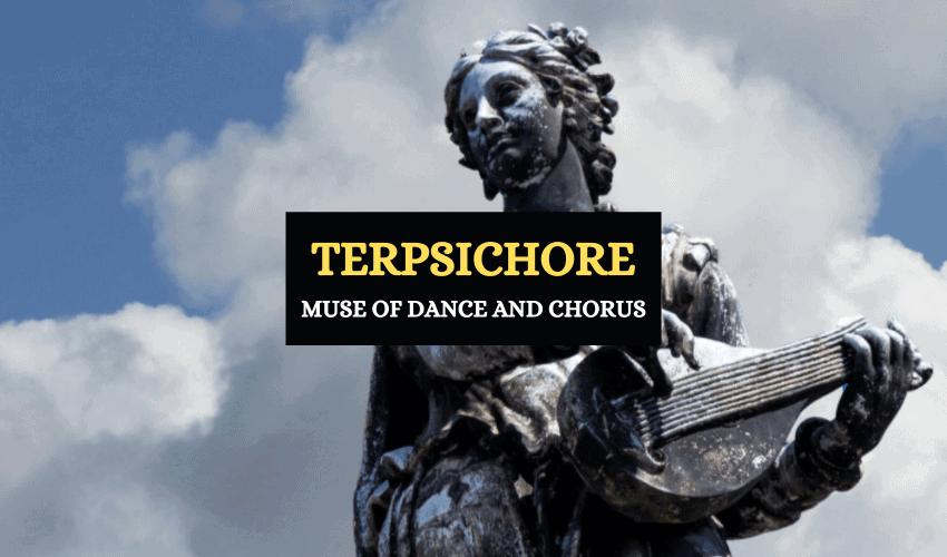 Terpsichore Greek muse of dance chorus