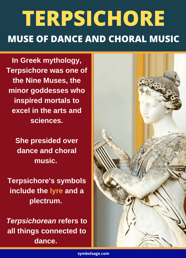 Terpsichore muse of music and dance