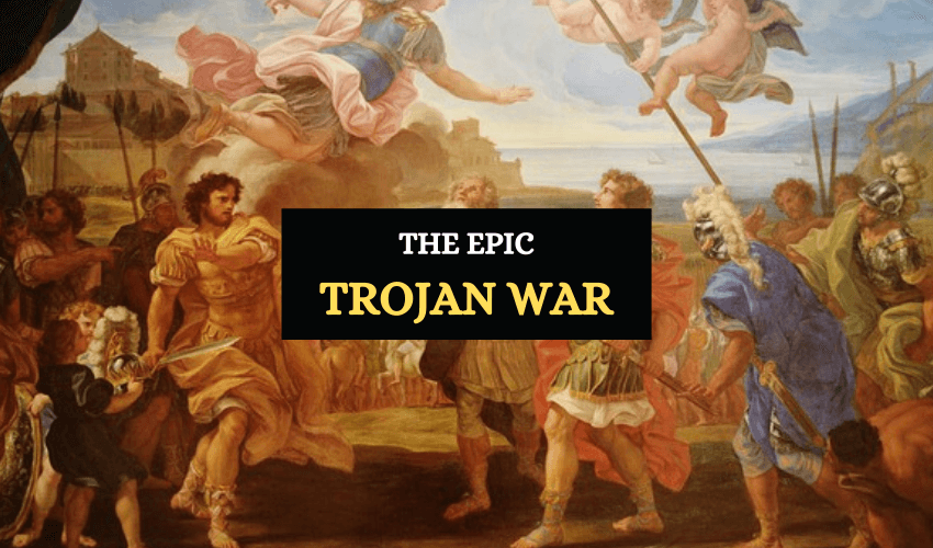 The timeline and history of Trojan war