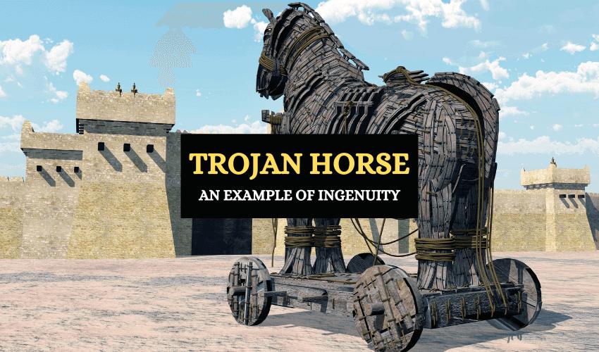 Trojan horse Greek mythology