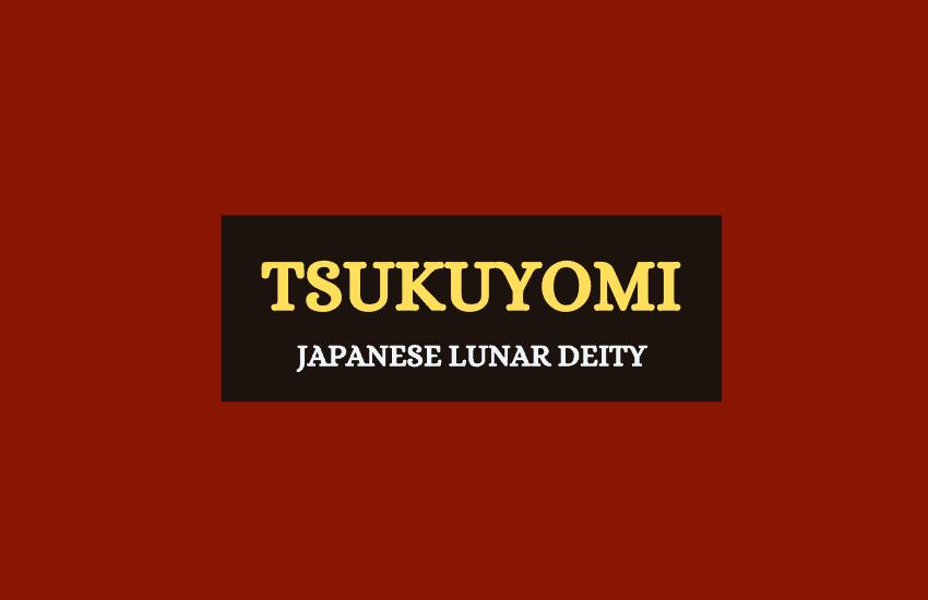 Tsukuyomi Japanese god
