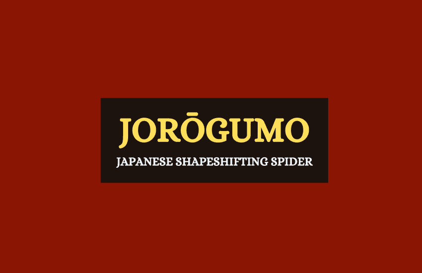 Jorōgumo Japanese mythology