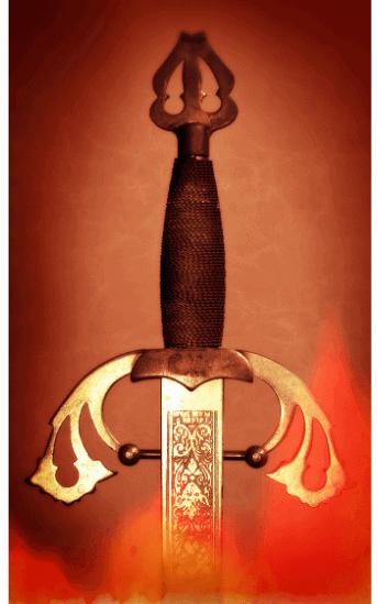 Angurvadal sword Norse myth